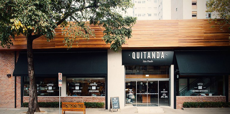 A Quitanda is a popular gourmet supermarket in Pinheiros © Quitanda