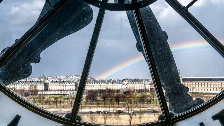 Rainbow from the Musée d'Orsay │© Yann Caradec / Flickr