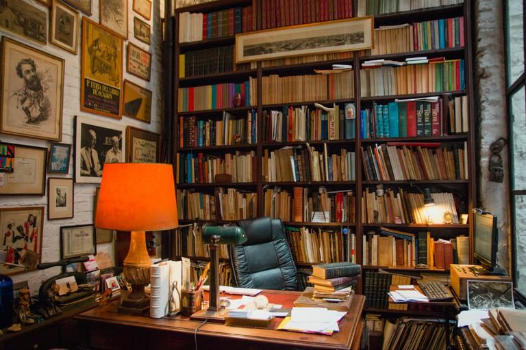 Reading corner © Lucía Cruz Fotografía