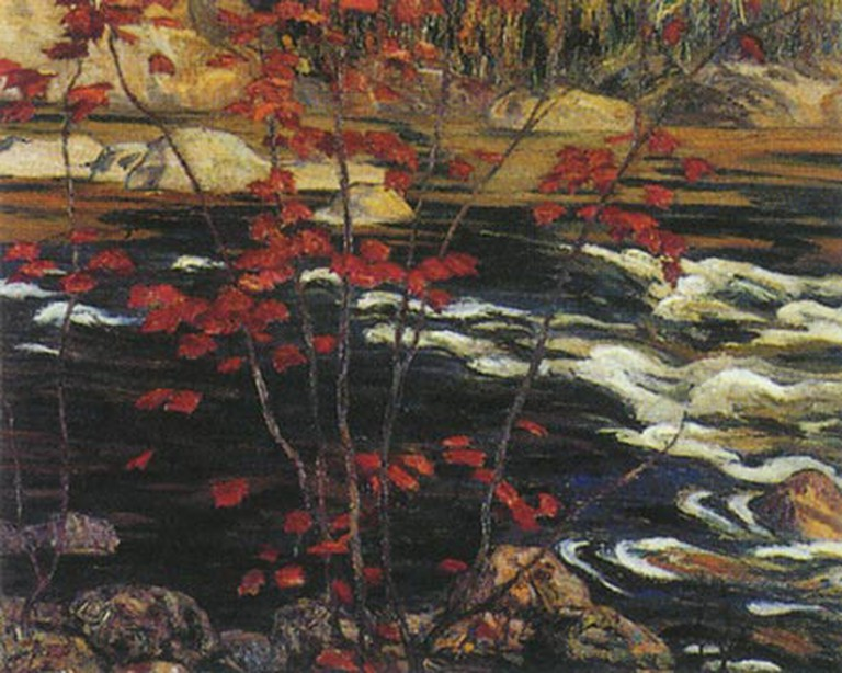 Red Maple (1914) by A.Y. Jackson | National Gallery of Canada/WikiCommons