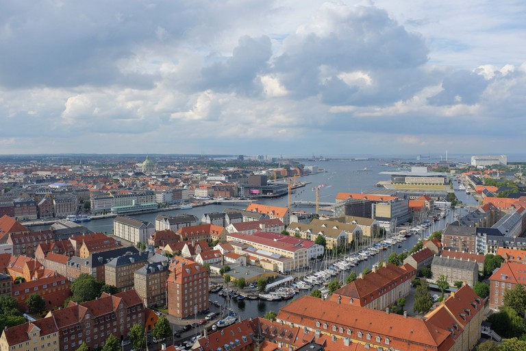 Copenhagen from above ©Manu Schwendener