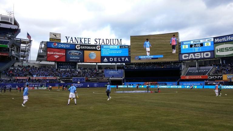 New York City FC play their home games at Yankee Stadium   © Michael LoRé/Culture Trip