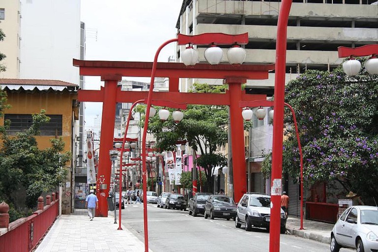 Rua Galvão Bueno, Liberdade, São Paulo © Gustavo Marquez Villegas/Flickr