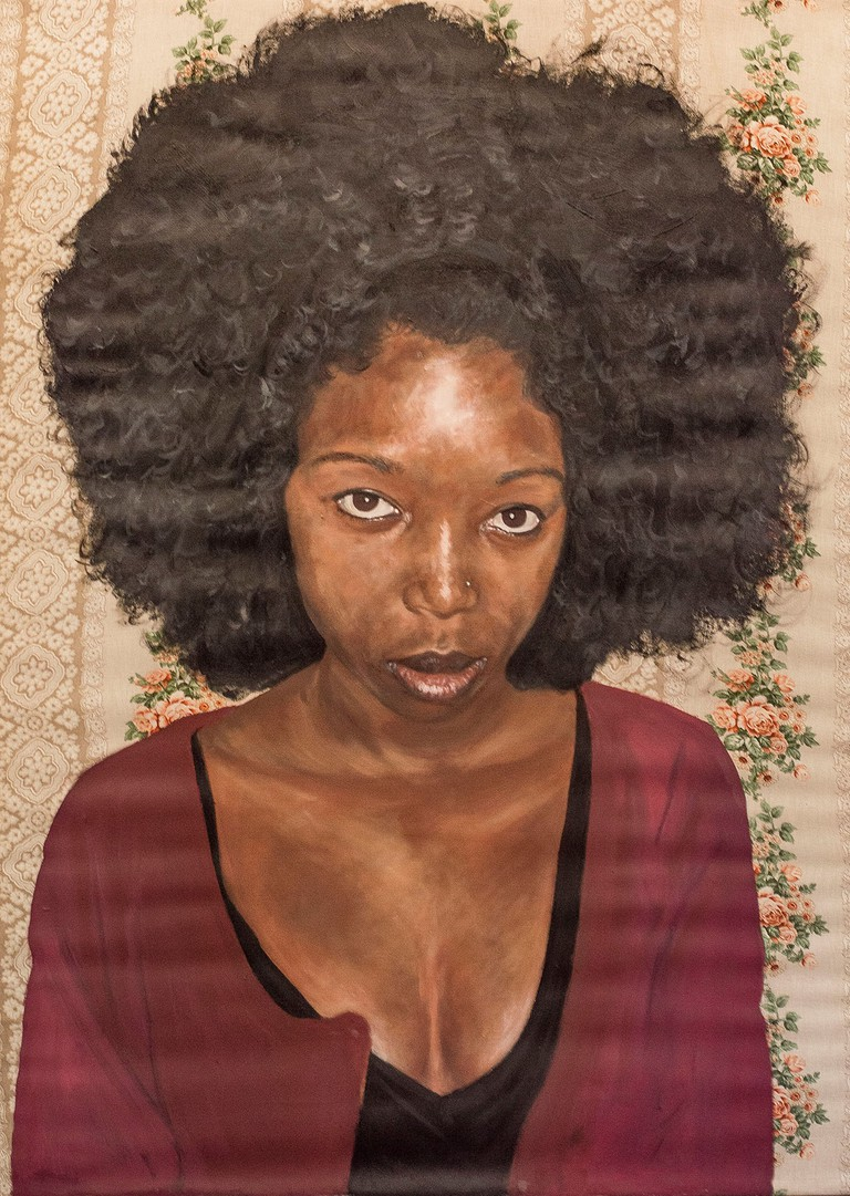 Portrait of a girl © Sakhile Mhlongo
