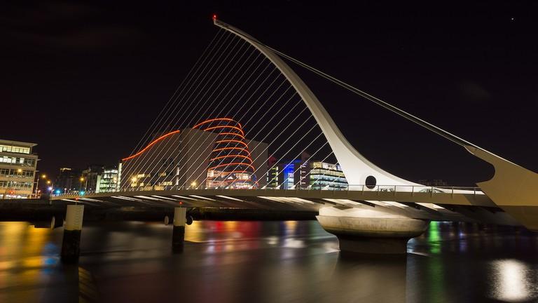 Samuel Beckett Bridge | © Miguel Mendez:Flickr