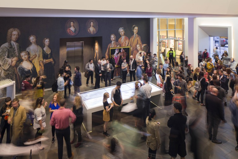 SCAD Savannah, Winter 2017. deFINE art, opening reception; SCAD Museum of Art. Photography by John McKinnon