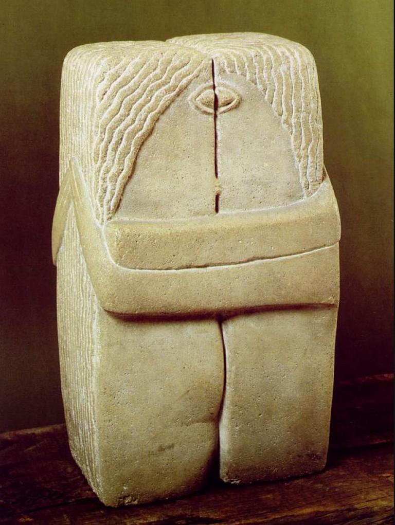 Constantin Brancusi The Kiss ©WikiArt