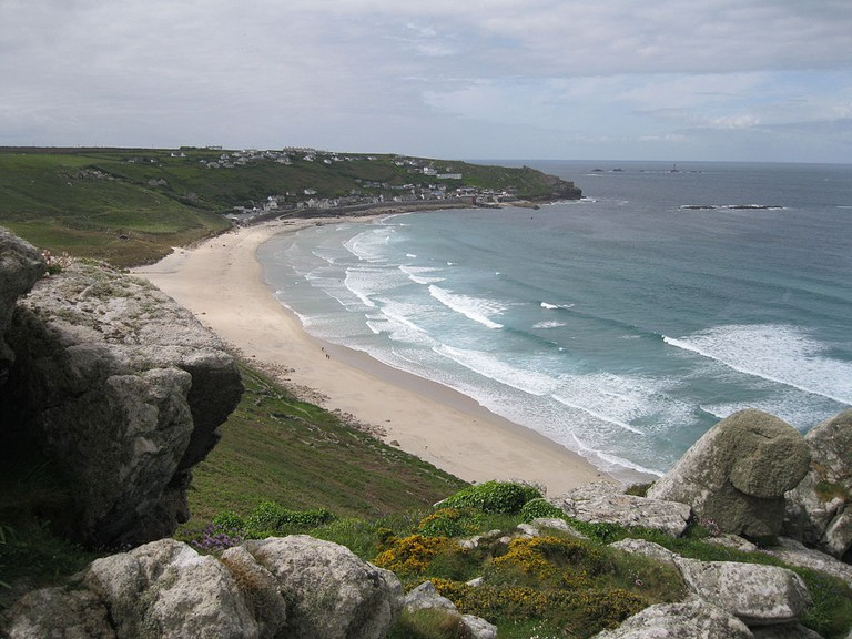 Sennen cove ©Andrew Bone/Wikimedia UK