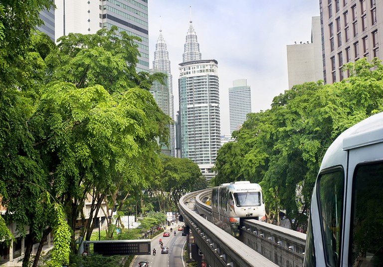 Kuala Lumpur metro consists of 6 metro lines operated by 4 operators  © joyfull/Shutterstock
