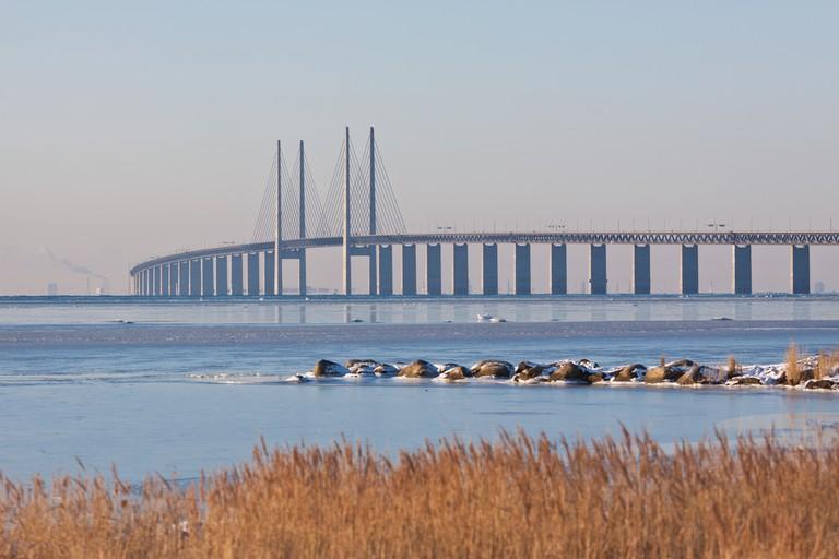 The bridge between Denmark and Sweden │© kimson/Shutterstock