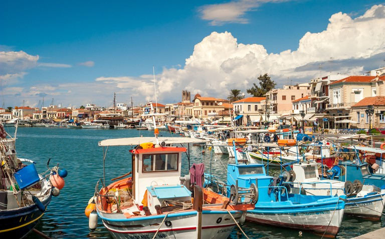 Port in Aegina | © milosk50/Shutterstock