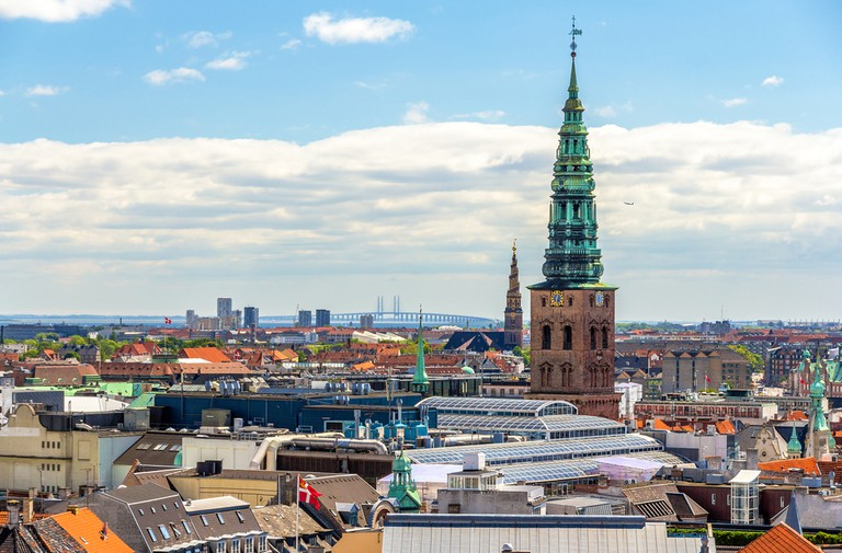 View of Copenhagen from The Round Tower │© Leonid Andronov/Shutterstock