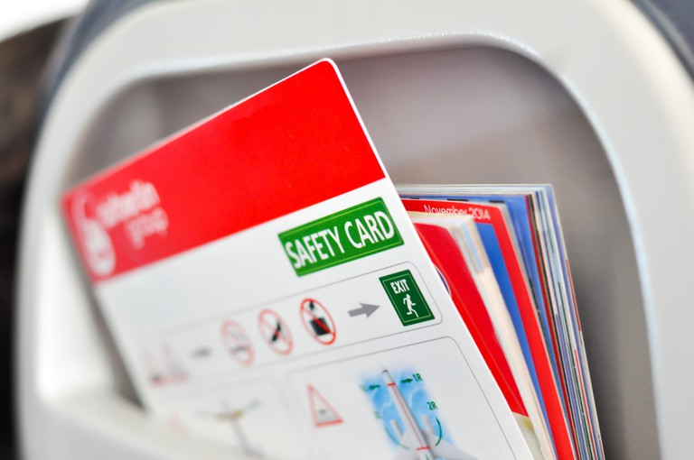 Safety cards © Ai825/Shutterstock