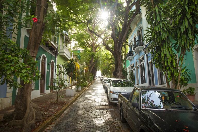 Puerto Rico - street of San Juan   © mikolajn/Shutterstock