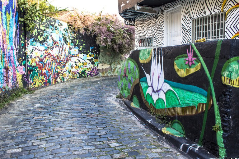 Beco do Batman in the Vila Madalena neighborhood