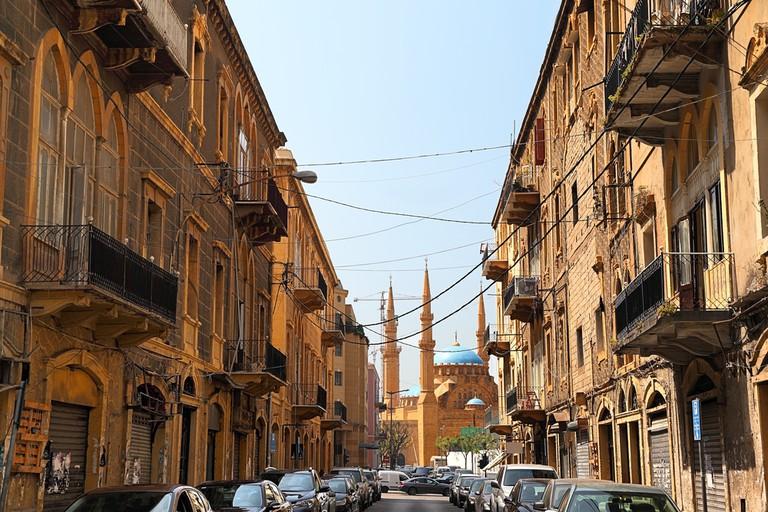 Gemmayzeh looking towards downtown, Beirut   © diak/Shutterstock