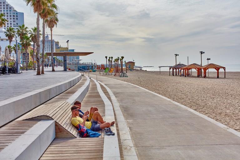 On the beach in Tel Aviv © rasika108 / Shutterstock