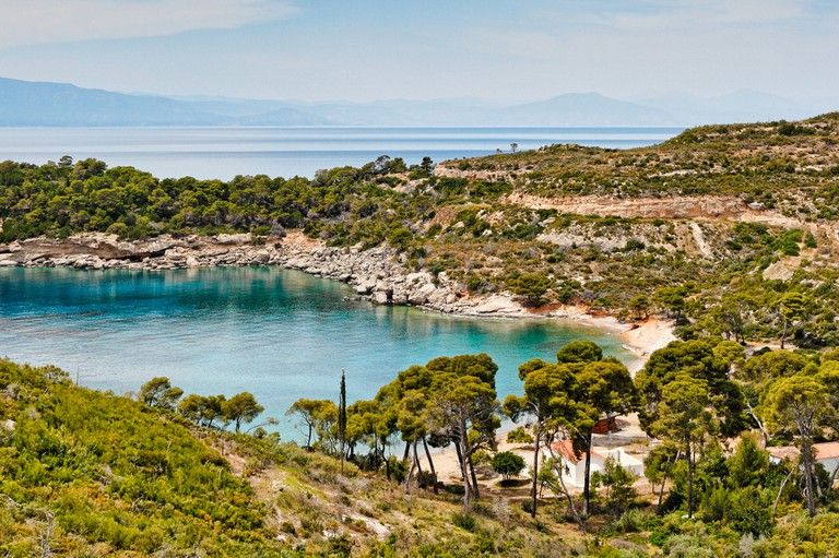 Agia Paraskevi on the west side of Spetses island, Greece | © Constantinos Iliopoulos/shutterstock