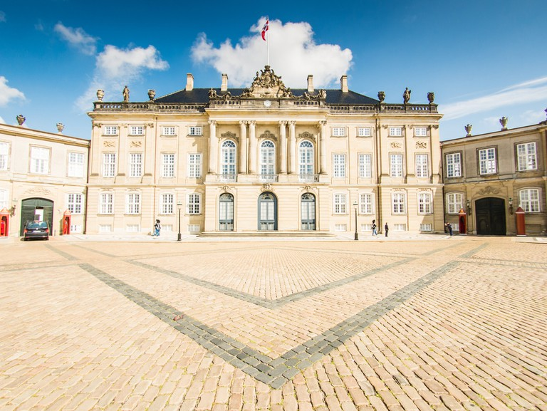 Amalienborg Palace │© Pabkov/Shutterstock