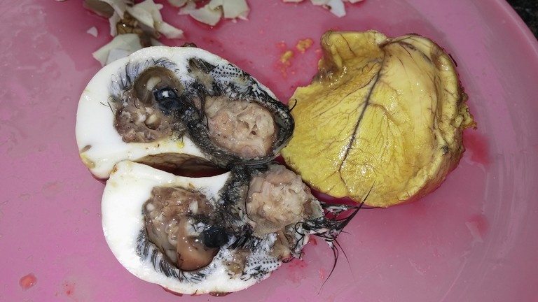 Balut is a common snack in Cambodia (c) Tunatura/ Shutterstock