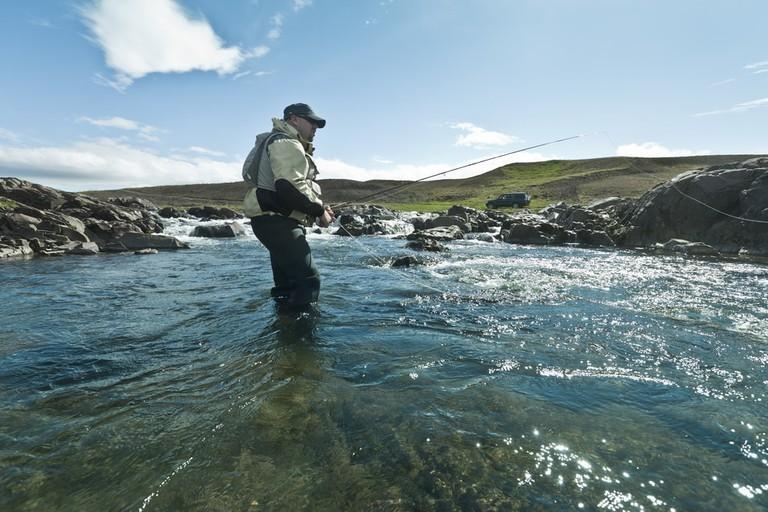 Fly Fishing in Iceland | © J.Helgason/Shutterstock