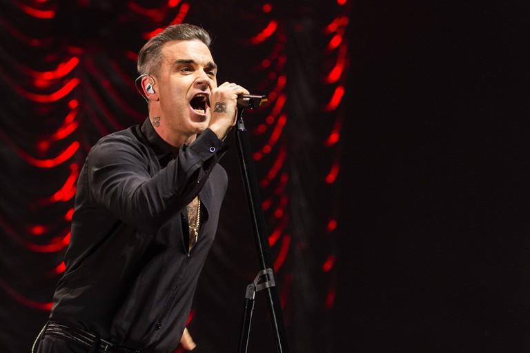 Robbie Williams will recede his 18th Brit Award | © Chris Lever / REX / Shutterstock