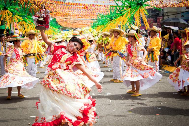 Sinulog street parade | © Pradeep Swaminathan / Flickr