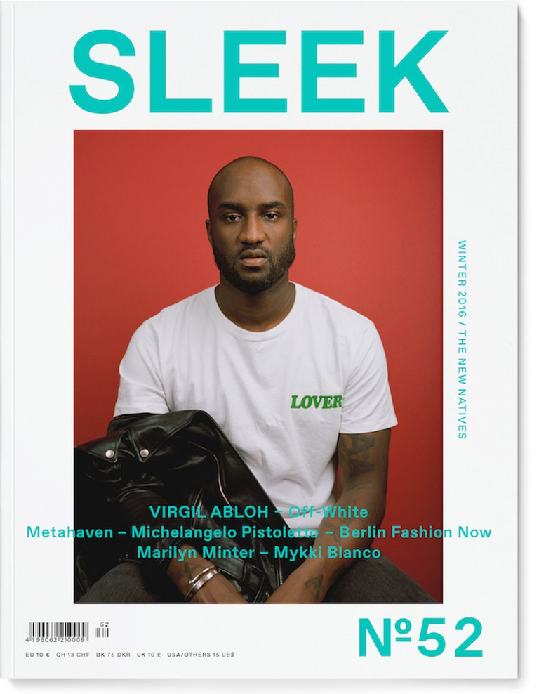 Issue #52 is out now| cover courtesy of Sleek Magazine