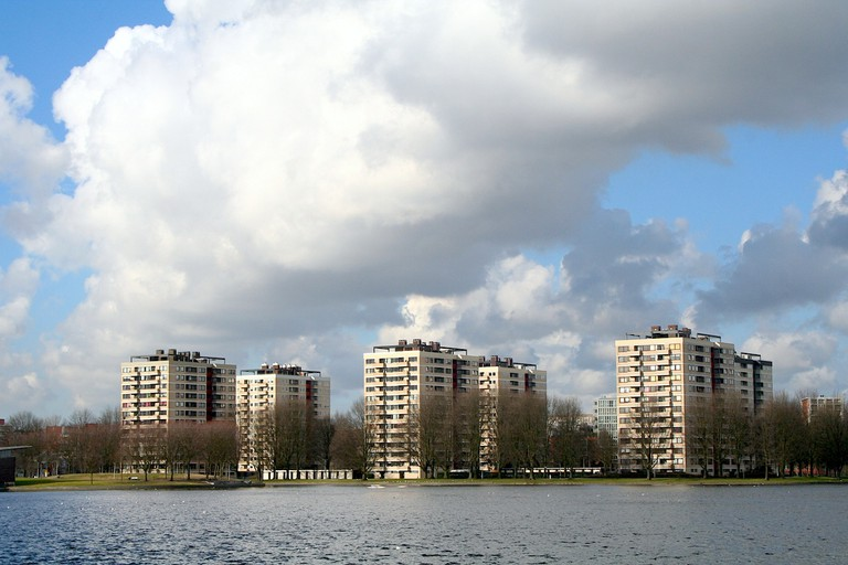 Sloterpas is a large lake in the Nieuw-West | © Eriksw /WikiCommons