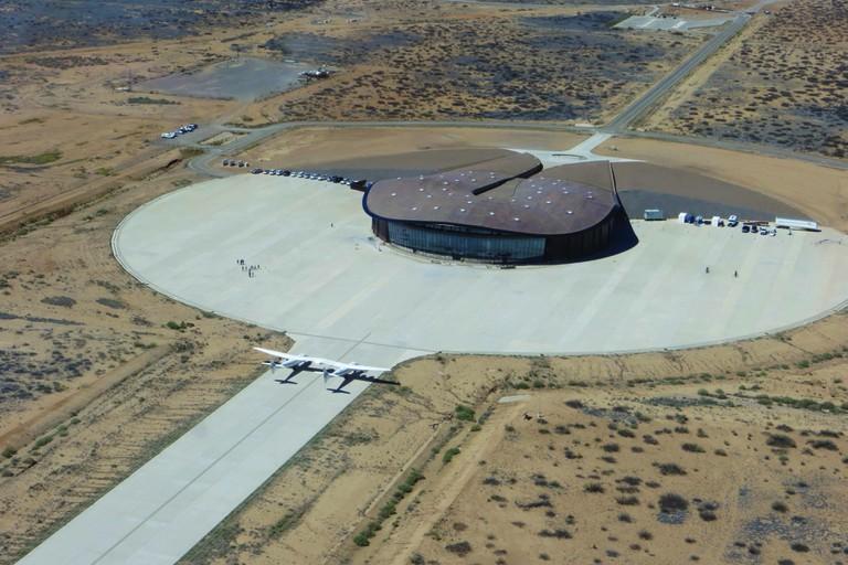 Virgin Galactic spaceport in the Mojave desert, New Mexico   © Virgin Galactic