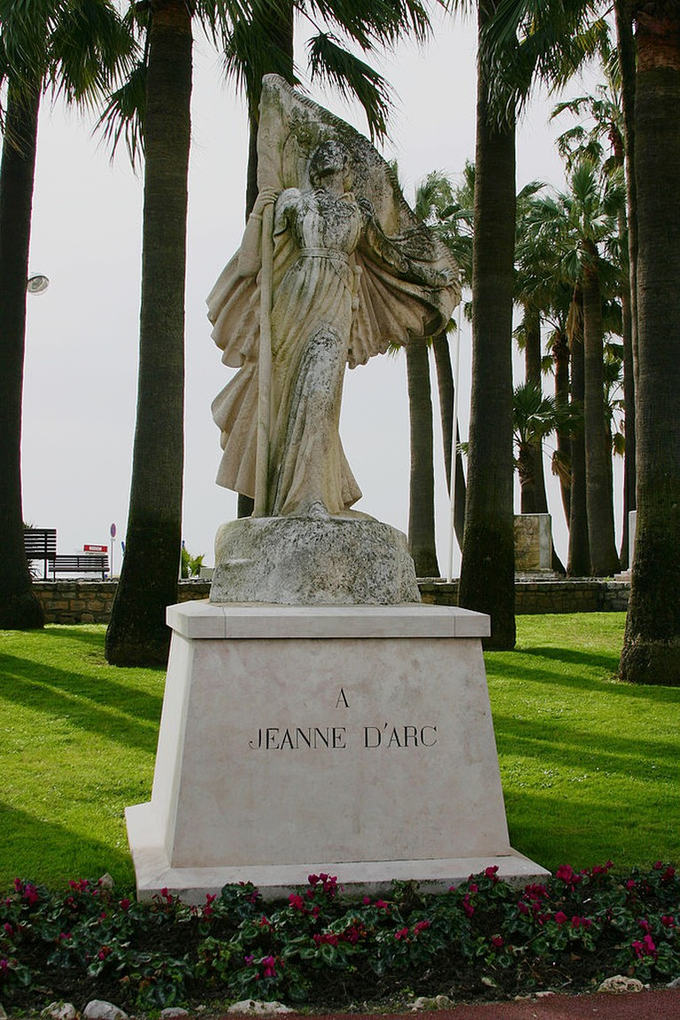The statue of Joan of Arc in Cannes | © José Luiz/WikiCommons