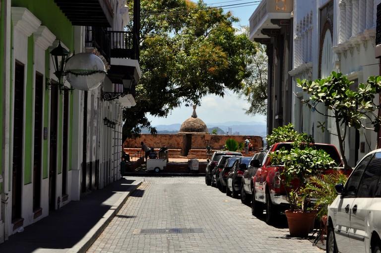 Street in Old San Juan | © Heather/ Flickr