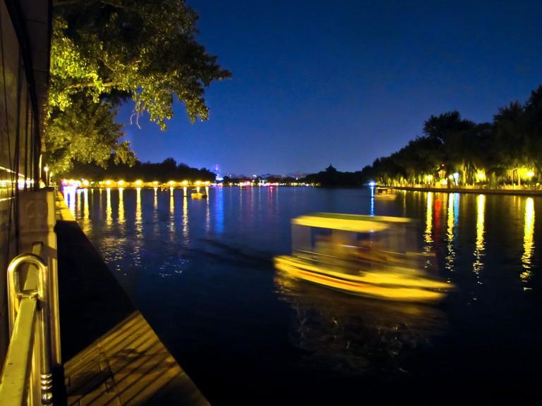 Houhai is part of central Beijing's sprawling lake system. | © Ricardo Ramírez Gisbert / Flickr