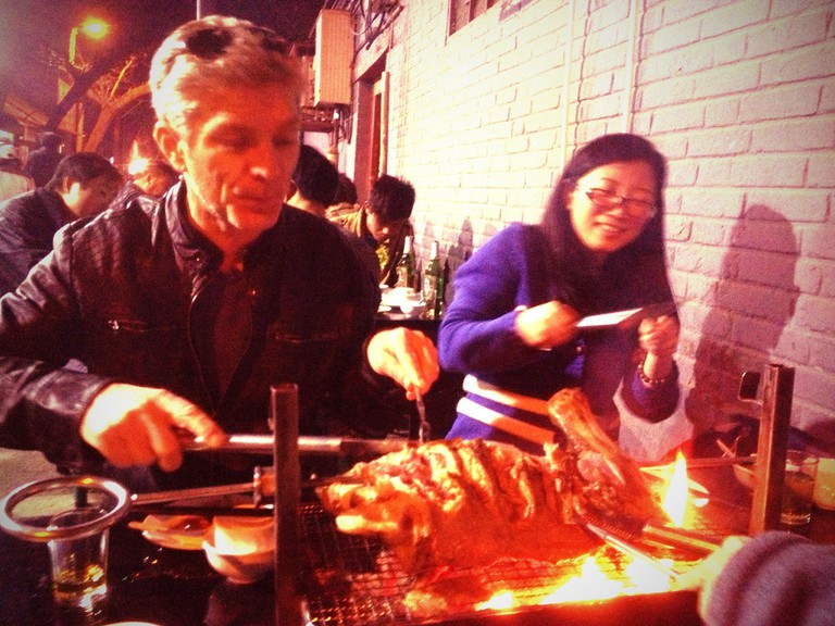 Street barbecue is a target of the smog police | © Brian Fitzgerald / Flickr