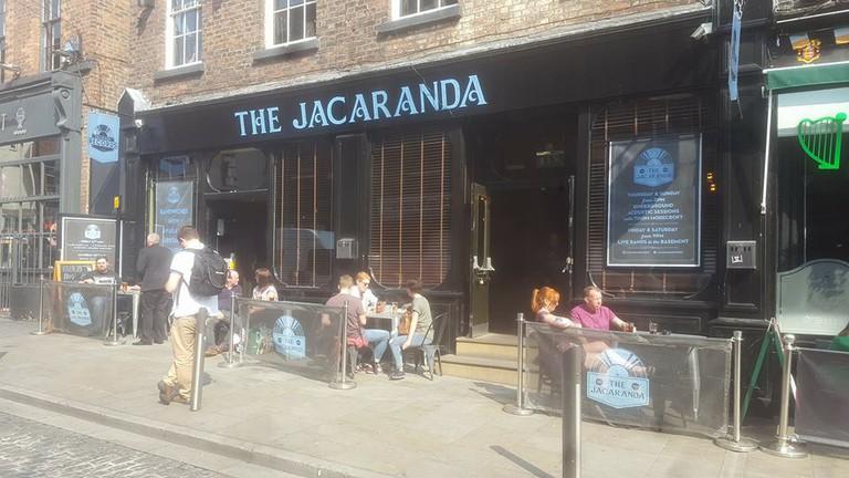 The Jacaranda bar