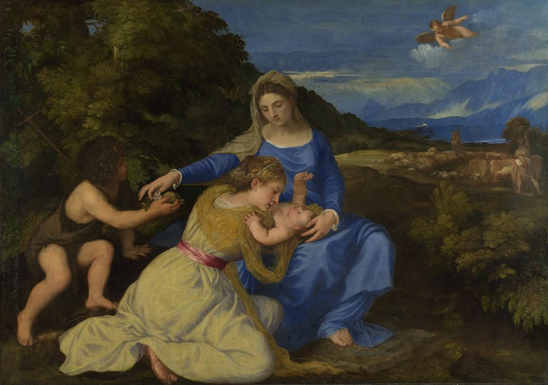 The Aldobrandini Madonna by Titian | © Titian / WikiCommons