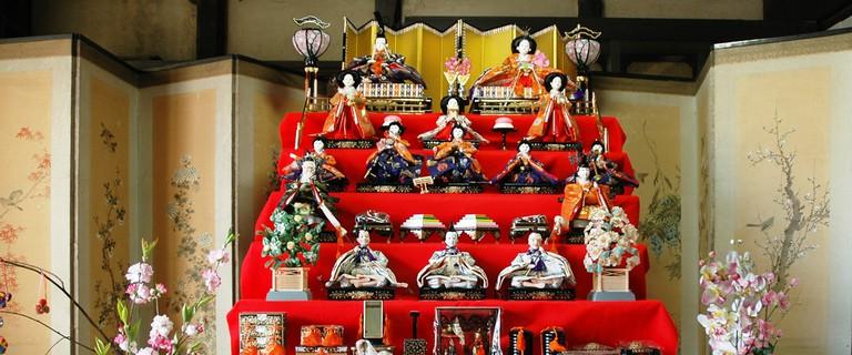 The Tomo Machinami Hina Matsuri Doll Festival