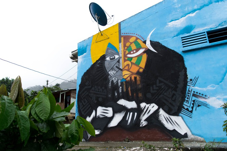 Triana Mural | Courtesy of Wisetwo