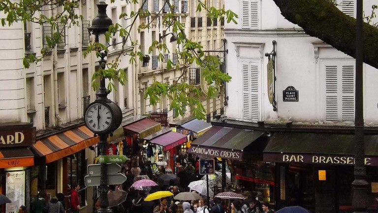 Umbrellas in Montmartre │© Mr Thinktank / Flickr