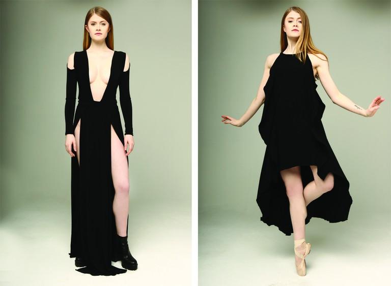 Sexy, edgy and all black | Courtesy Jade Helene Shimmin