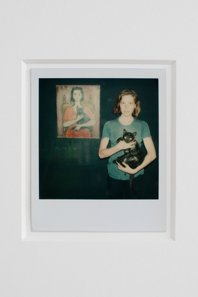 Untitled polaroid by Michel Auder | © Isabelle Arthuis / courtesy of De Markten
