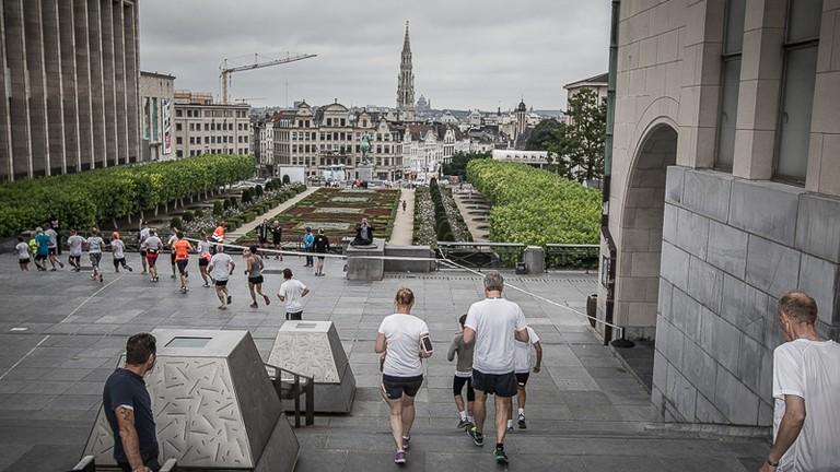 Urban Trail Brussels | courtesy of Golazo Sports