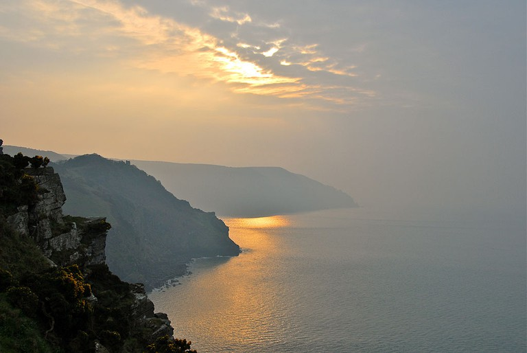 Valley of the Rocks, Exmoor National Park ©FH Mira/Wikimedia UK