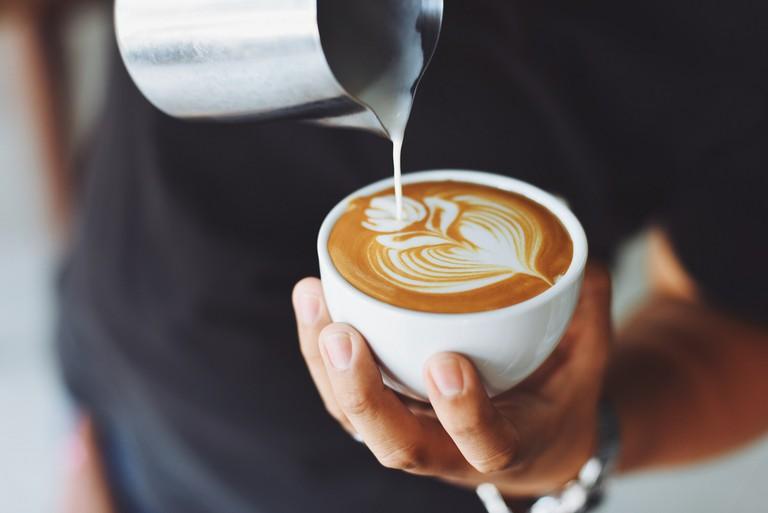 Indulge in a rich coffee drink   Pexels
