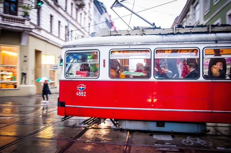 Tram in VIenna | © tozik / pixabay