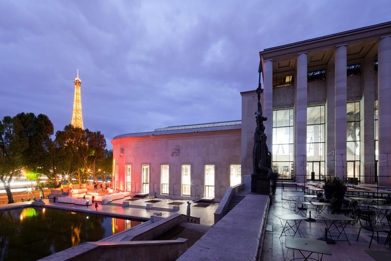 View of the Palais de Tokyo in April 2012 │© Florent Michel, Courtesy of the Palais de Tokyo