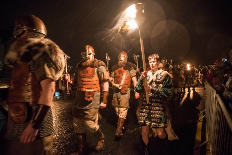 Up the ranks for Up Helly-Aa 2017 | © Austin Taylor / VisitScotland
