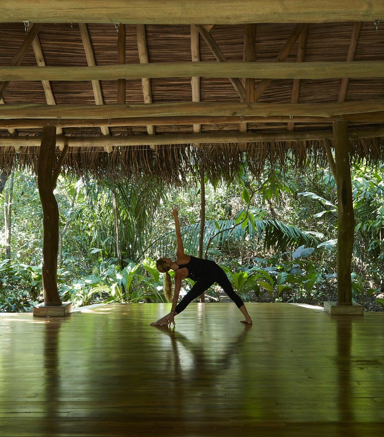 Yoga and wellness at the Harmony Hotel | © James Anderson/Tartan Group
