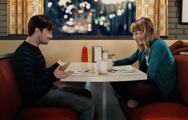 Daniel Radcliffe and Zoe Kazan in 'What If' | Courtesy of Entertainment One