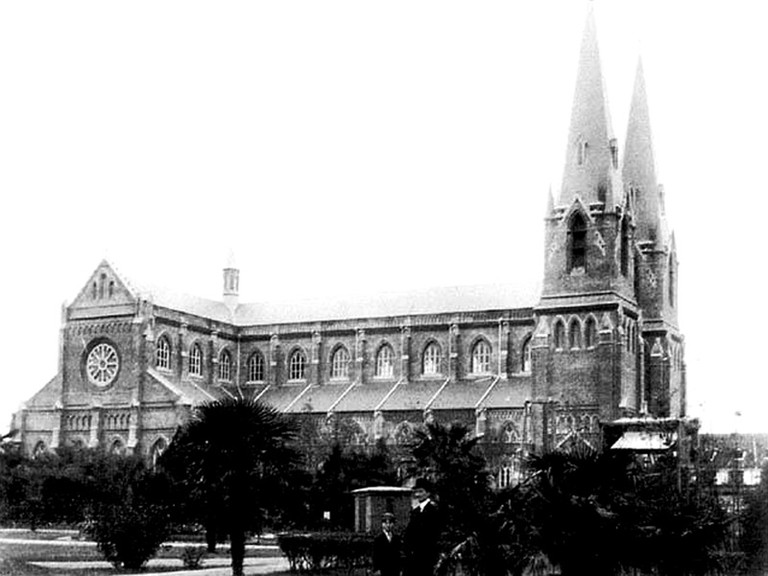 Xujiahui Cathedral Then | Courtesy of the Shanghai Government